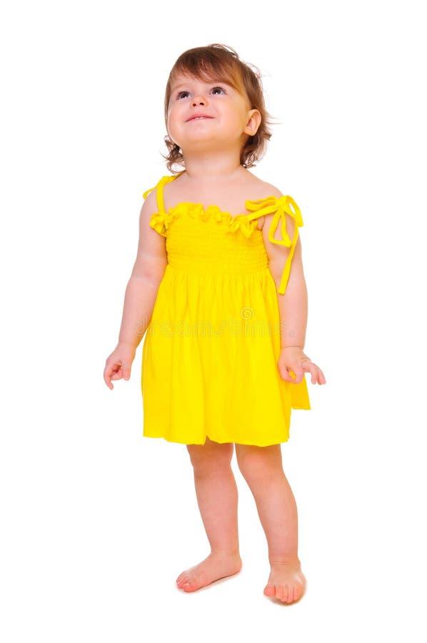 Verticale colorée d'une fille image stock