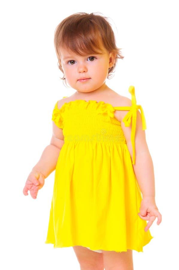 Verticale colorée d'une fille photo stock