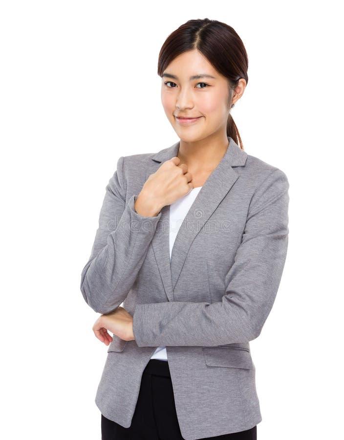 Download Verticale Confiante De Femme D'affaires Image stock - Image du personne, people: 45365499