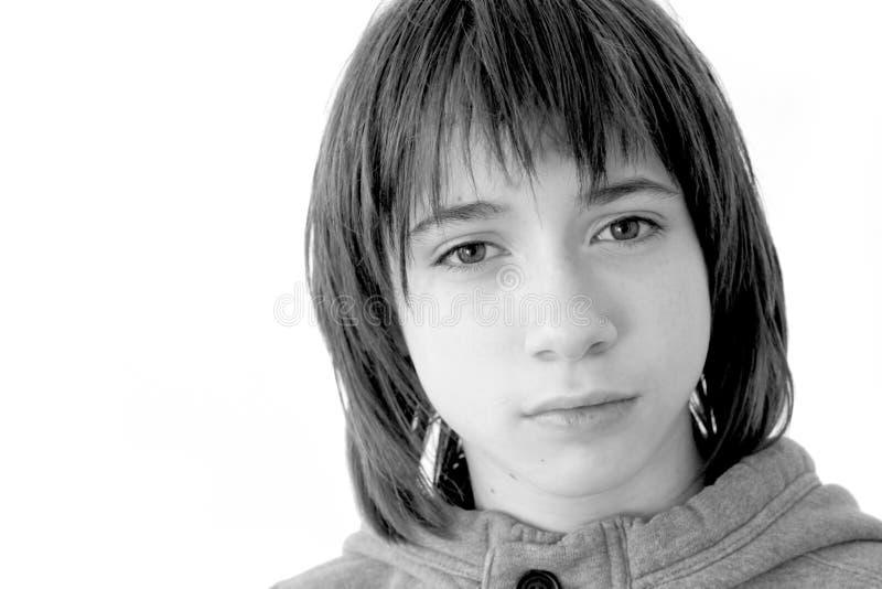 Verticale d'adolescent image libre de droits
