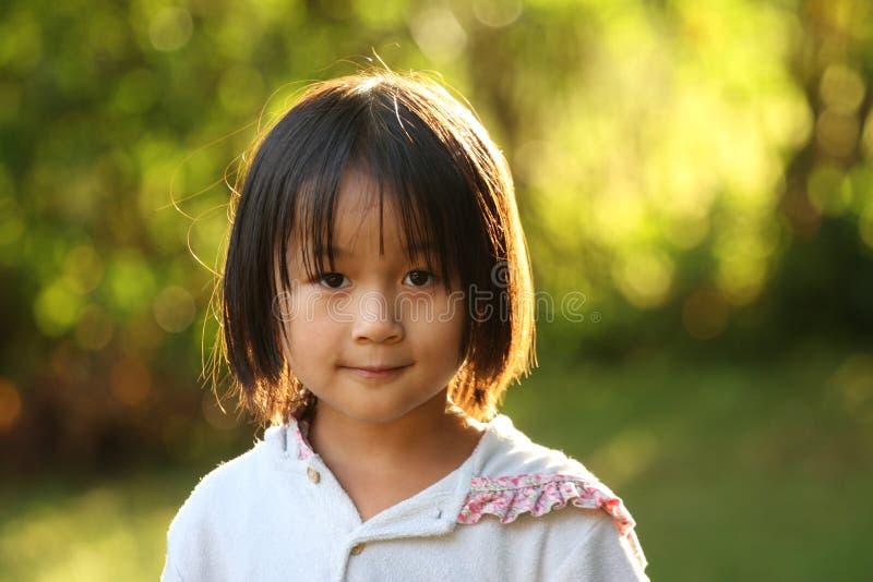 Verticale d'enfant photographie stock libre de droits