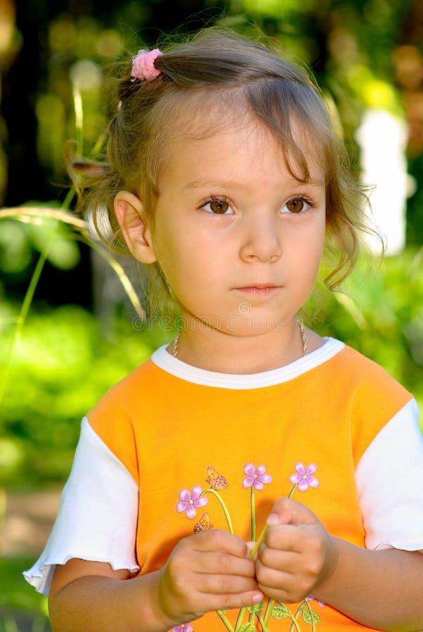 Verticale d'enfant photo stock