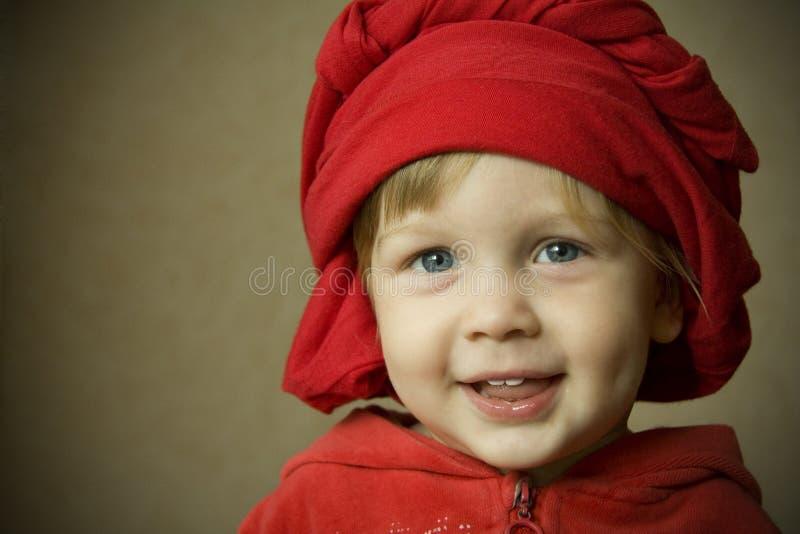 Verticale d'un enfant photo stock