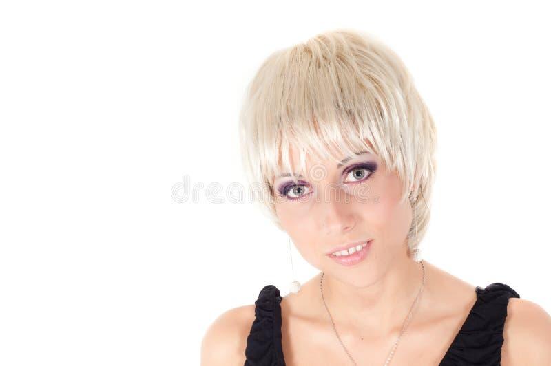 Verticale d'une belle et sexy jeune femme image stock
