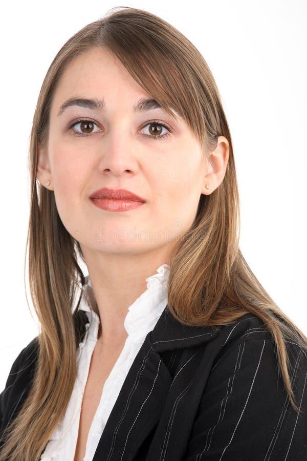 Verticale d'une femme d'affaires photos stock