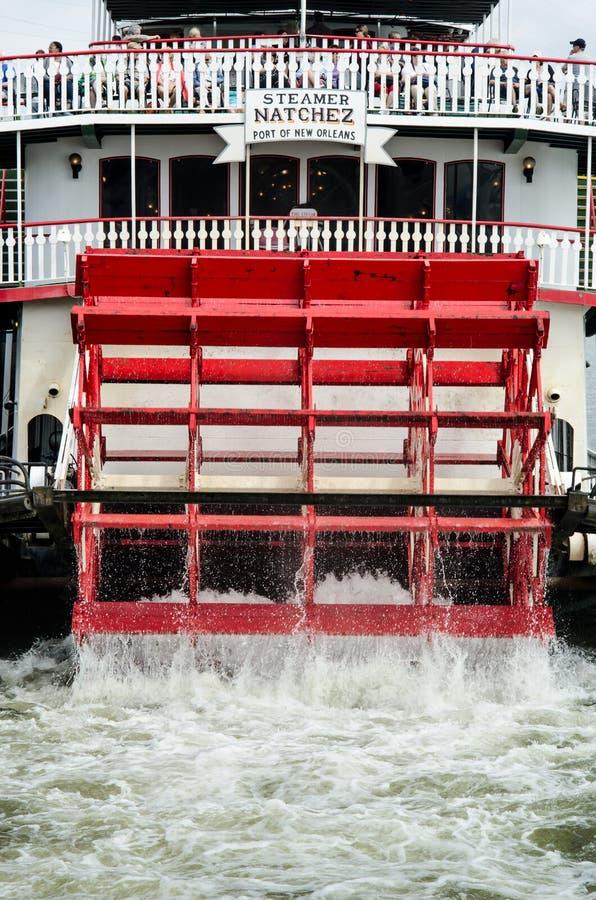 Verticale de bateau de visite de Natchez photographie stock