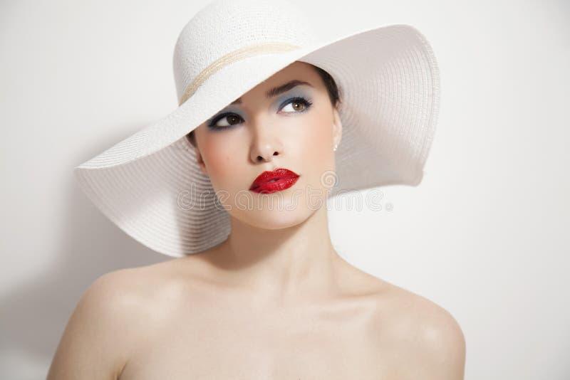 Verticale de beauté de mode photo stock
