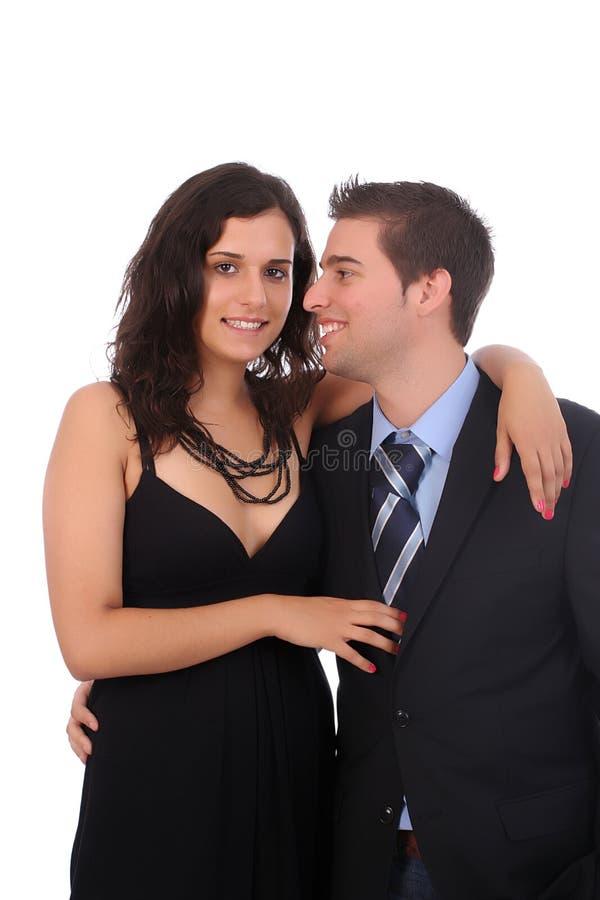 verticale de couples de bussiness photos libres de droits