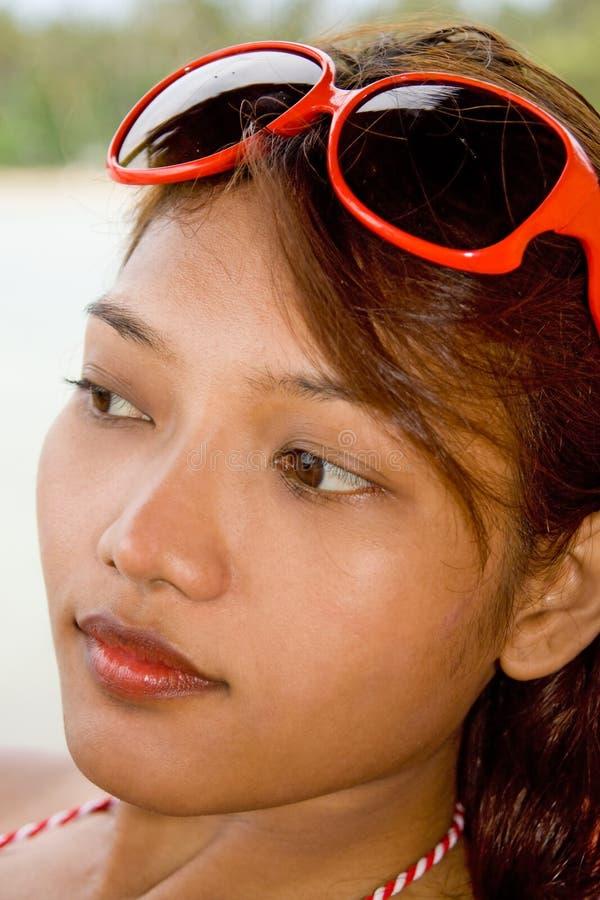Verticale de femme photos stock