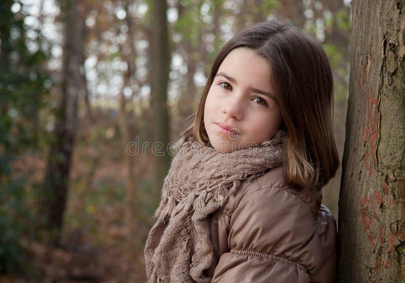 Verticale de fille photo stock
