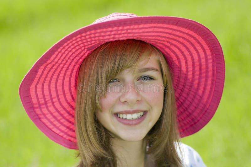verticale de fille de beauté d'adolescent photos stock