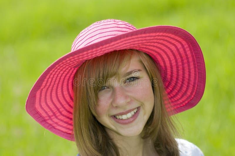 verticale de fille de beauté d'adolescent photos libres de droits