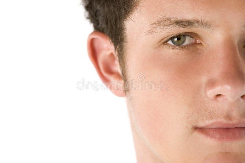 verticale de garçon d'adolescent photo libre de droits
