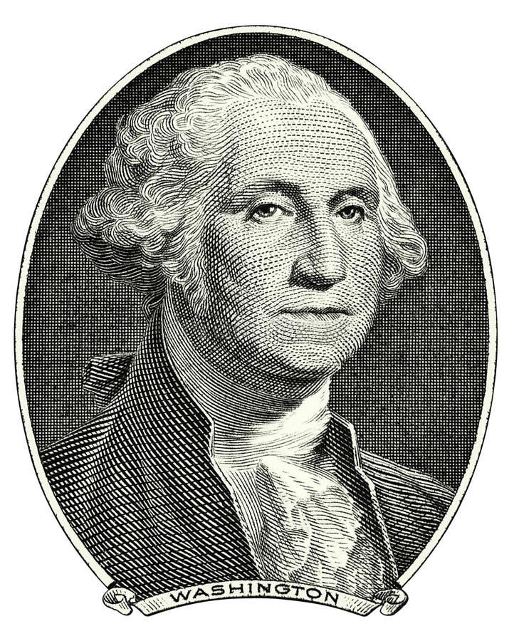 Verticale de George Washington photos libres de droits