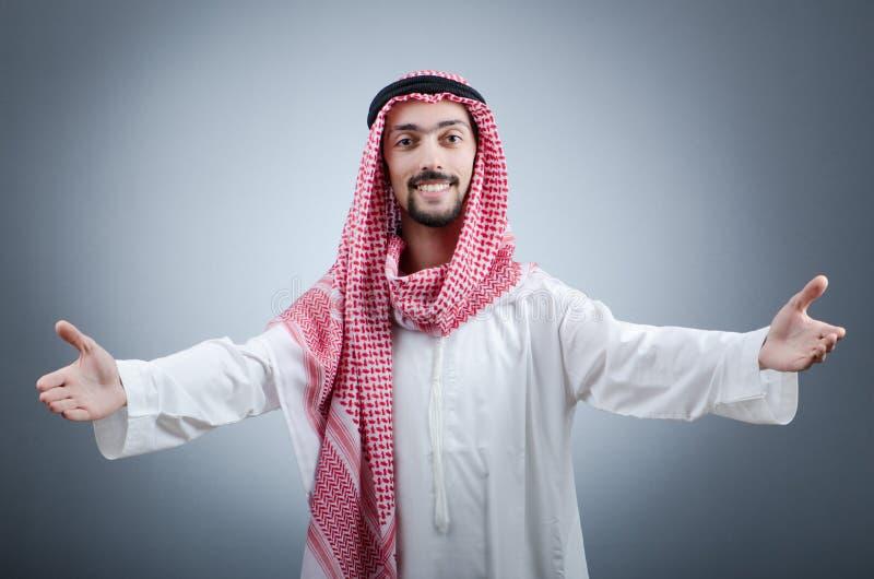 Verticale de jeune Arabe photo libre de droits