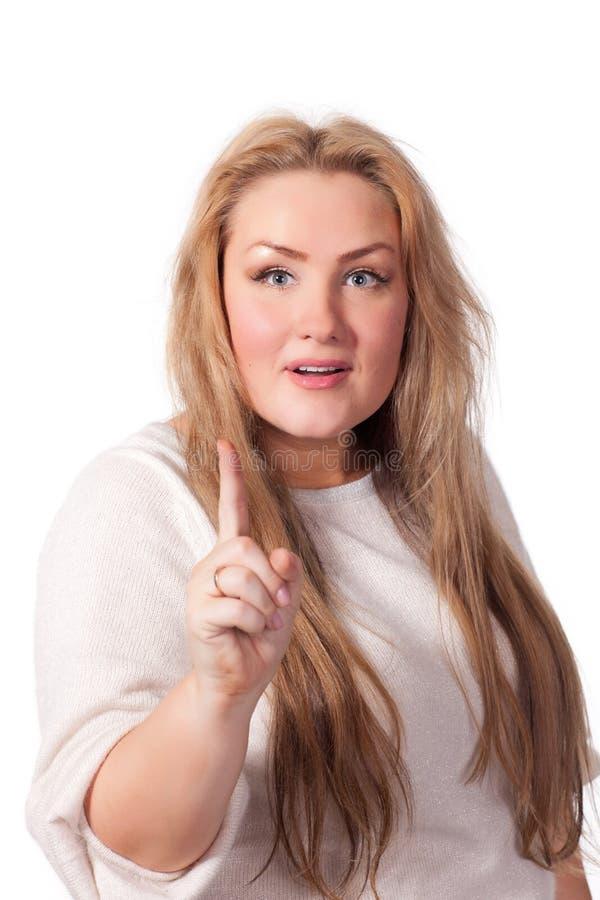 Verticale de jeune femme étonnante. photo libre de droits