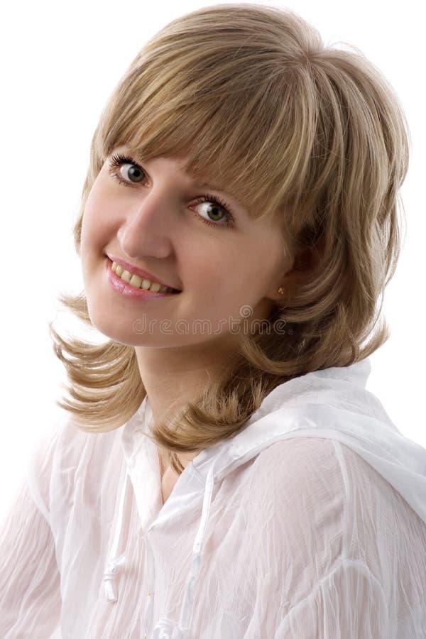 Verticale de jeune femme photos stock