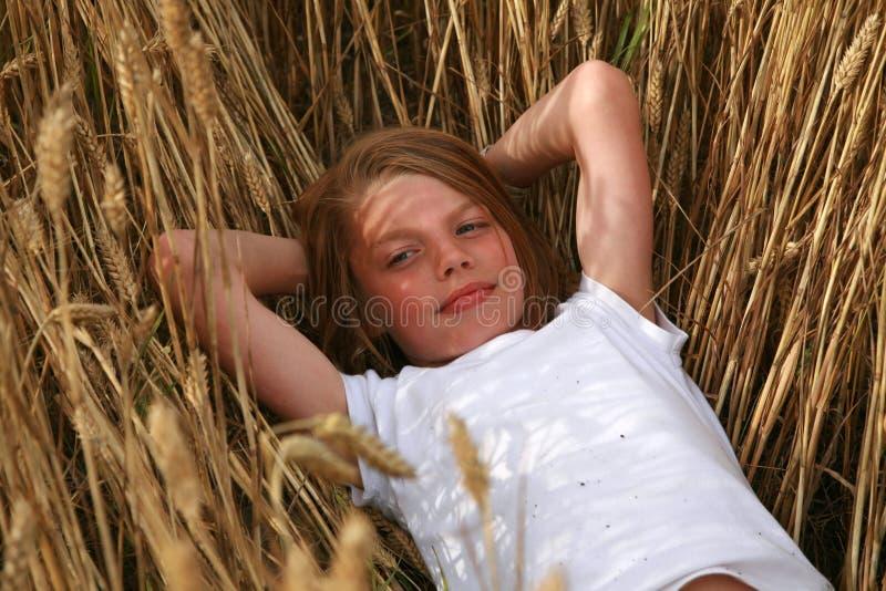 Verticale de jeune garçon photographie stock libre de droits