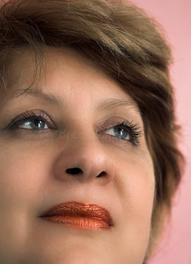 Verticale de la femme photographie stock libre de droits