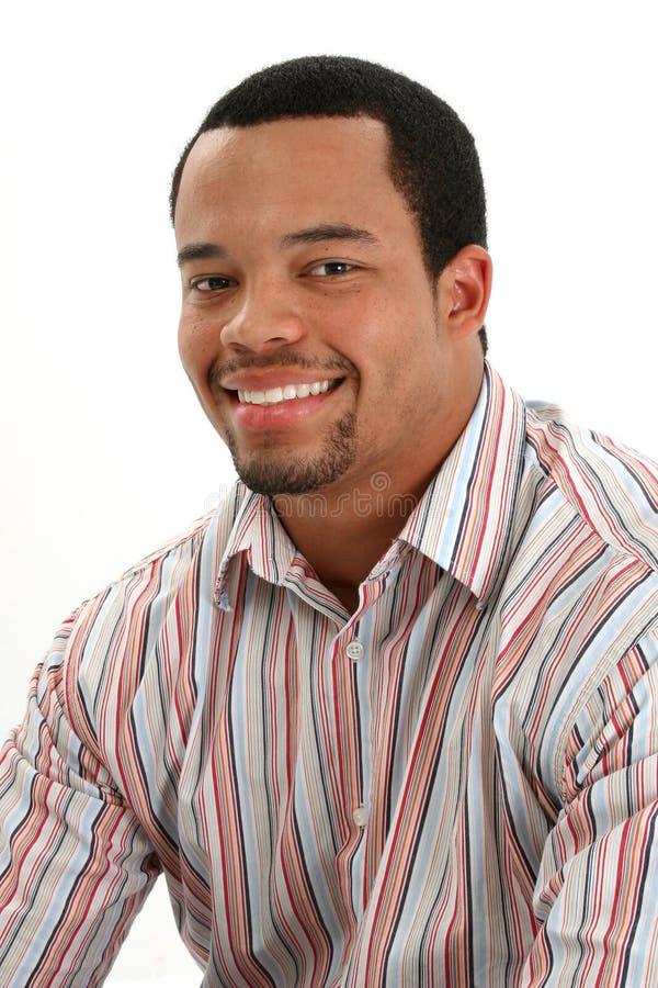 Verticale de mâle d'Afro-américain photos libres de droits