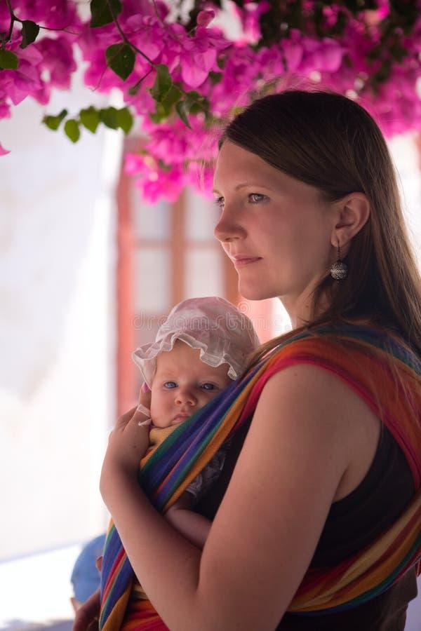 Verticale de mère et de descendant photos libres de droits