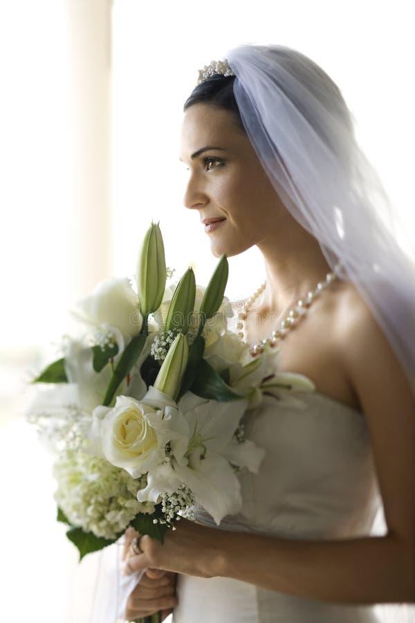 Verticale de mariée. photo stock