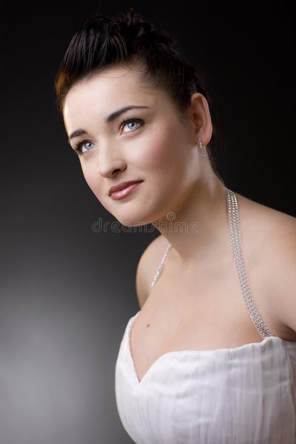 verticale de mariée images stock
