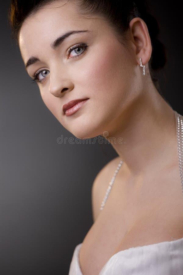 verticale de mariée photographie stock