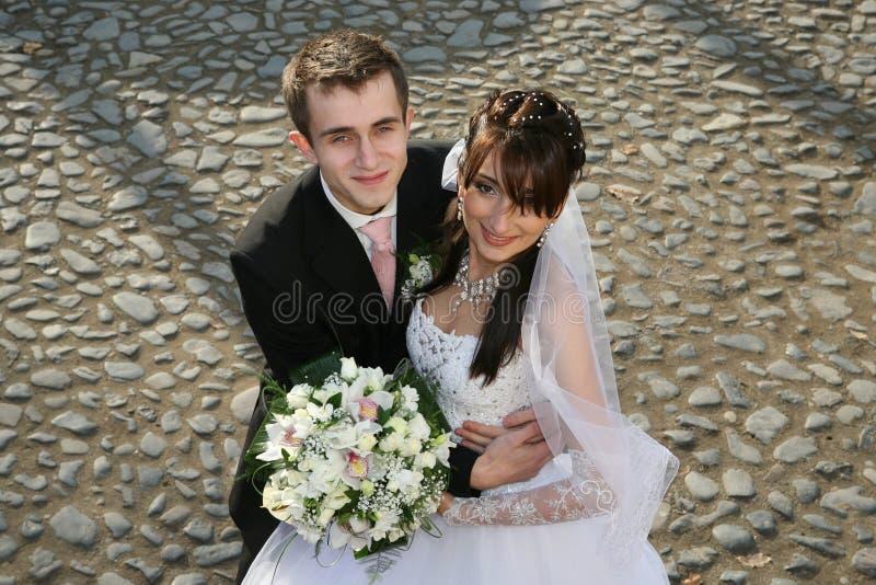 Verticale de mariage photos libres de droits