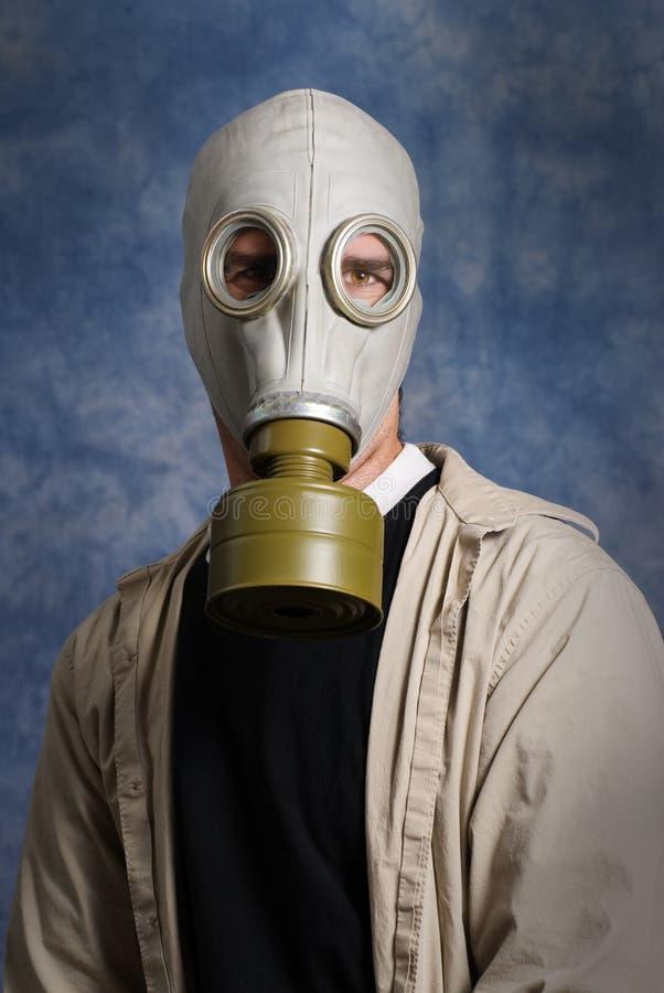 Verticale de masque de gaz photo stock