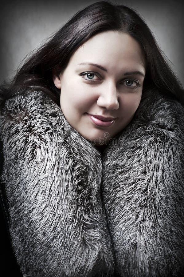 Verticale de mode de jeune femme sexy adulte images libres de droits