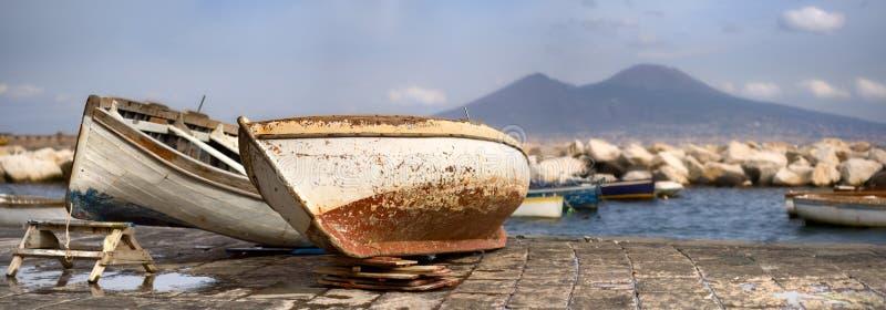 verticale de Naples photos stock