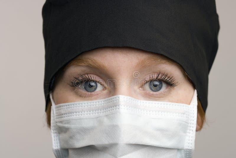 Verticale de personnel médical féminin photos libres de droits