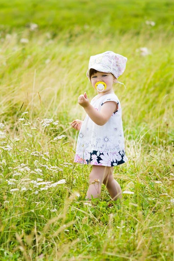 Verticale de petite fille photo stock