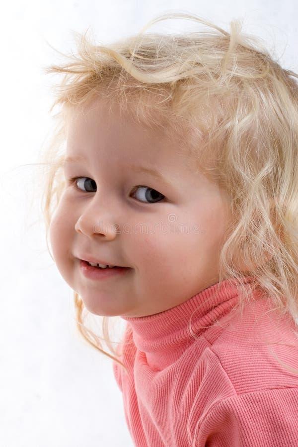Verticale de petite fille photos libres de droits