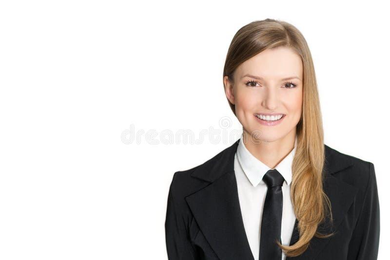 Verticale de plan rapproché de belle jeune femme image libre de droits