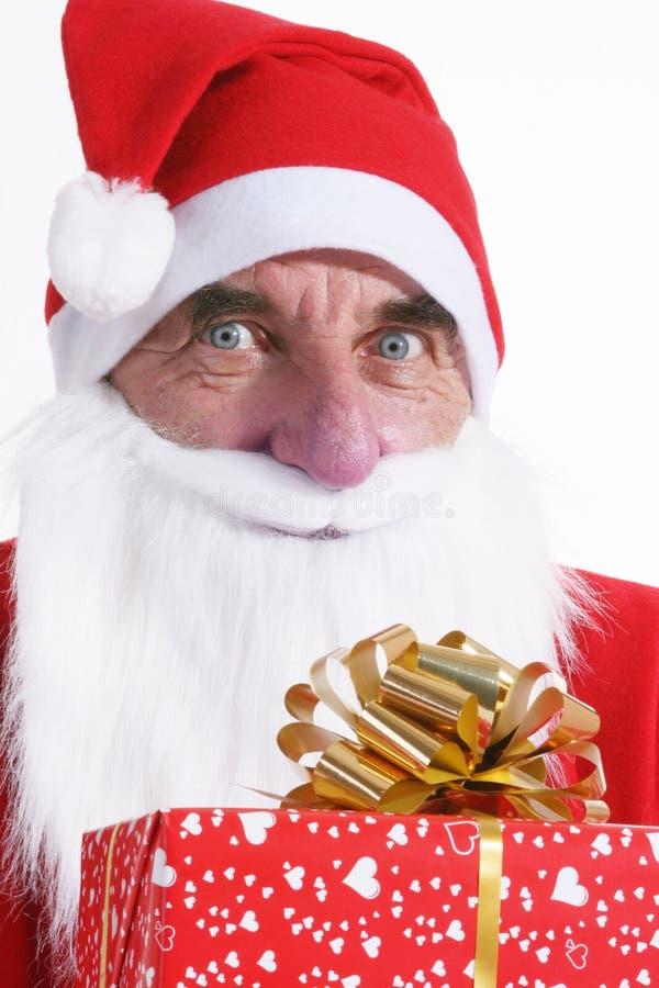 Verticale de Santa photos stock