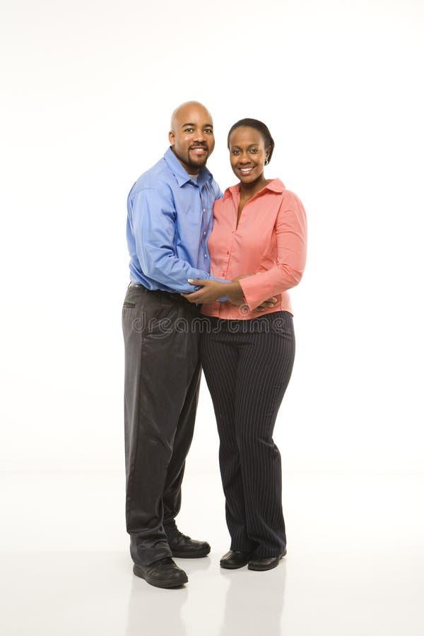 Verticale des couples. photos stock