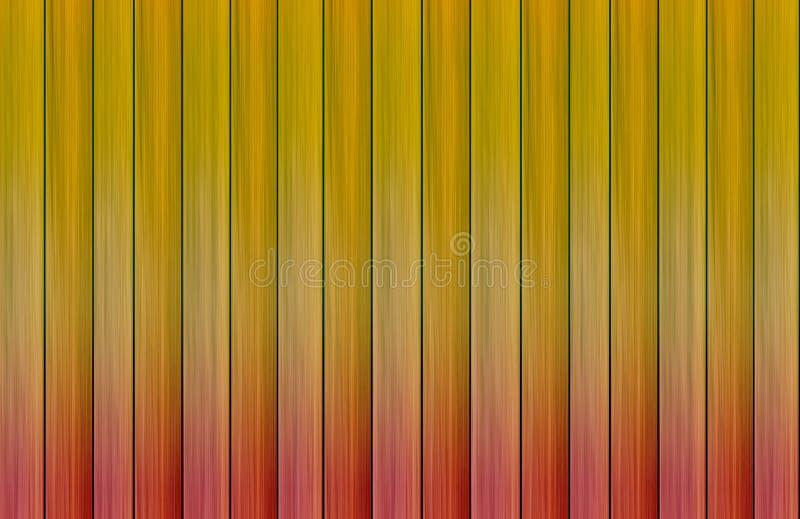 Verticale die canvasachtergrond van de gradiënt van de raadskleur wordt gestapeld royalty-vrije illustratie