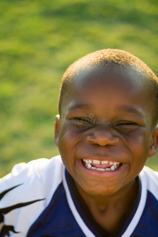 Verticale Excited d'enfant photos libres de droits