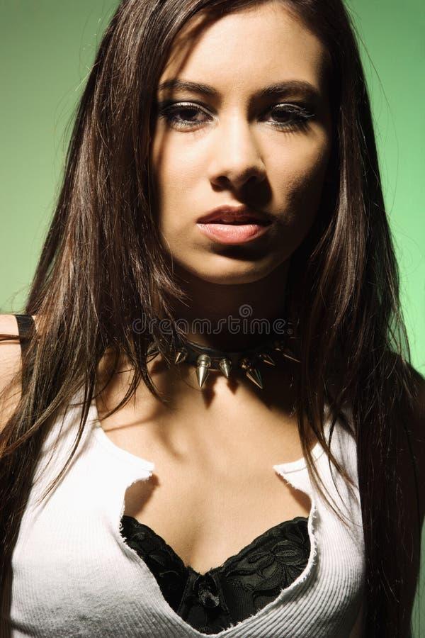 Verticale femelle. photographie stock libre de droits
