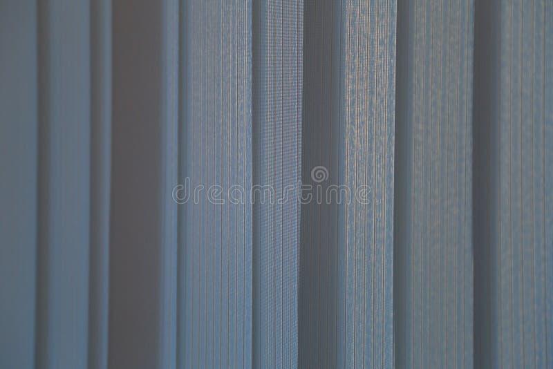 Verticale gekleurde jaloezie royalty-vrije stock fotografie