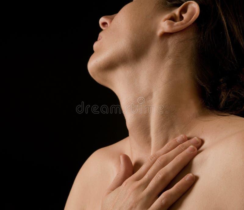 Verticale sensuelle photographie stock
