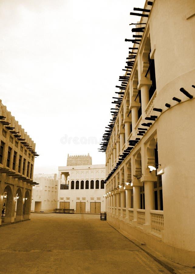 Verticale tradizionale del souq fotografia stock