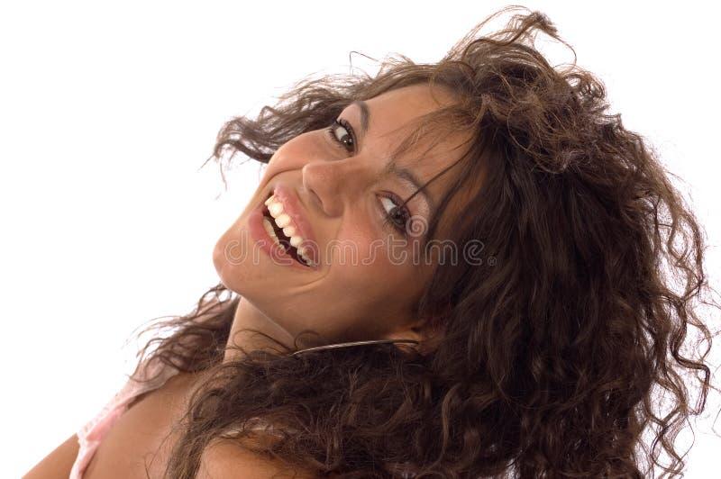 Verticales de sourire image libre de droits
