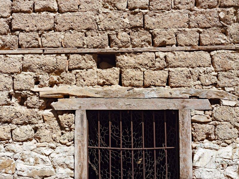 Vertiente del ladrillo del fango foto de archivo libre de regalías