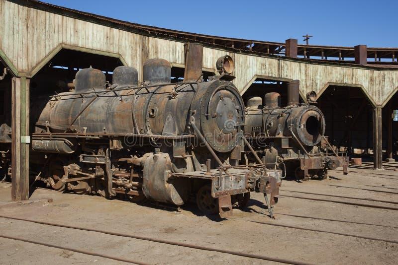 Vertiente del motor de Baquedano, Chile fotografía de archivo libre de regalías
