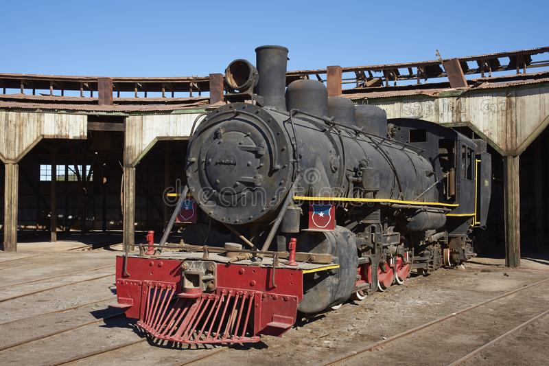 Vertiente del motor de Baquedano, Chile fotografía de archivo