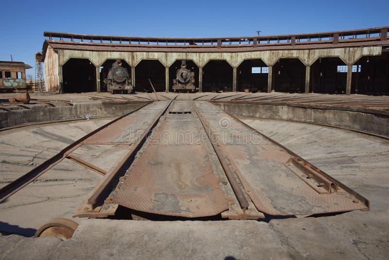 Vertiente del motor de Baquedano, Chile imagen de archivo