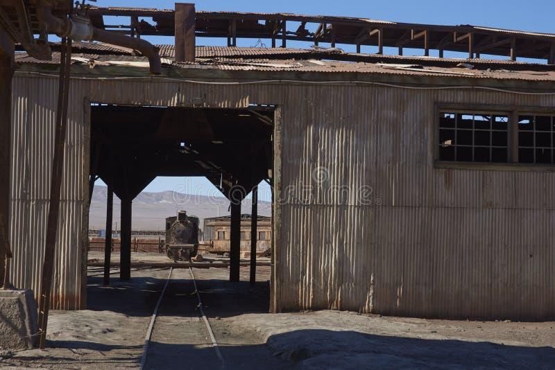 Vertiente del motor de Baquedano, Chile fotos de archivo libres de regalías